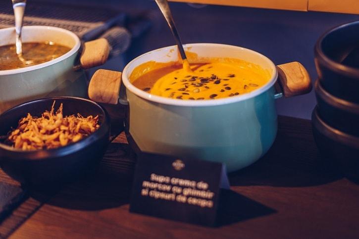 B3ton Restobar Supa Crema Morcovi Ghimbir