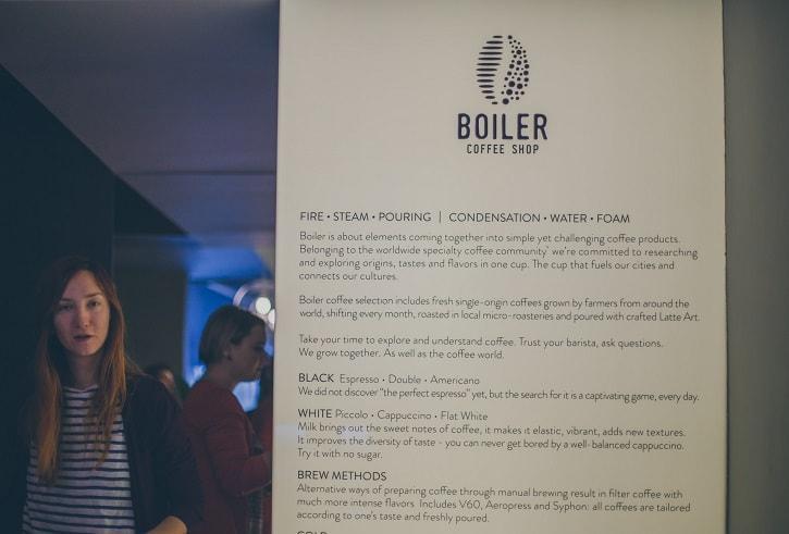 Boiler Coffee Shop Bucuresti