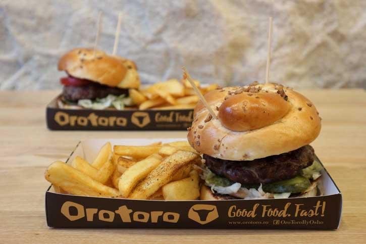 Burger Orotoro de Craciun