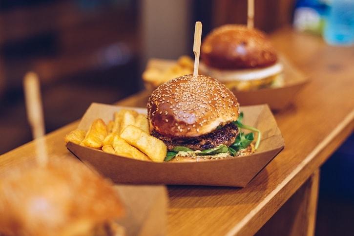 Burgeria Stirbei Green Savory Burger