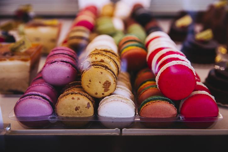 contact macarons chocolat