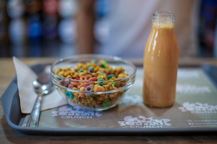 Cereal Crunch Cafe Froot Loops Lapte Portocaliu