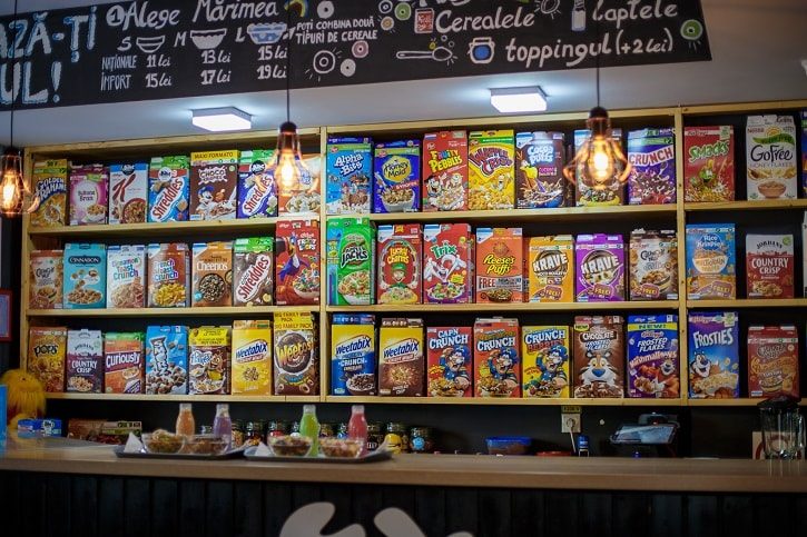 Cereal Crunch Cafe Selectie Cereale