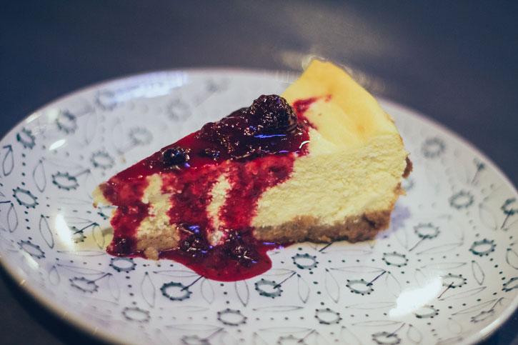 Cheesecake de casa - Old Brick Pub