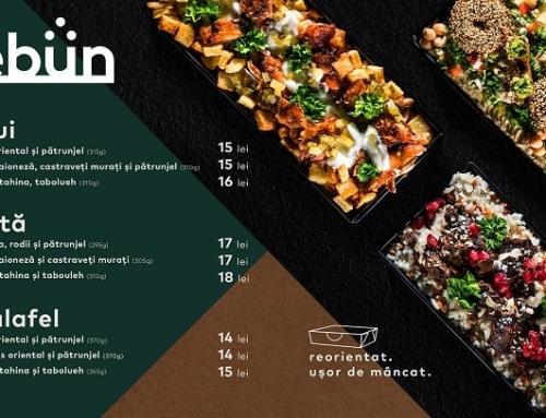 Kebun, un Concept Fresh de Fast-Food la Condimental by Calif