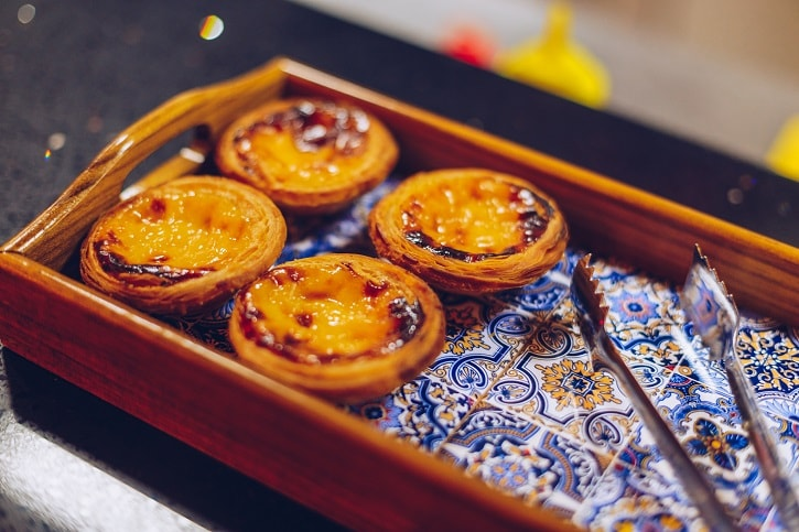 Dancing Lobster Pastel de Nata