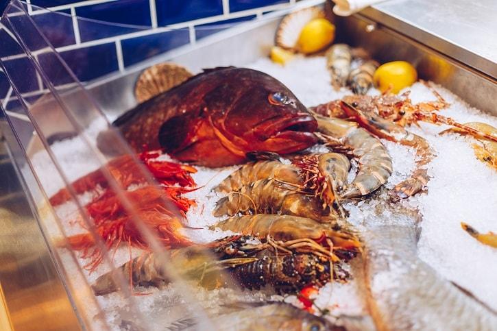 Dancing Lobster Peste Proaspat
