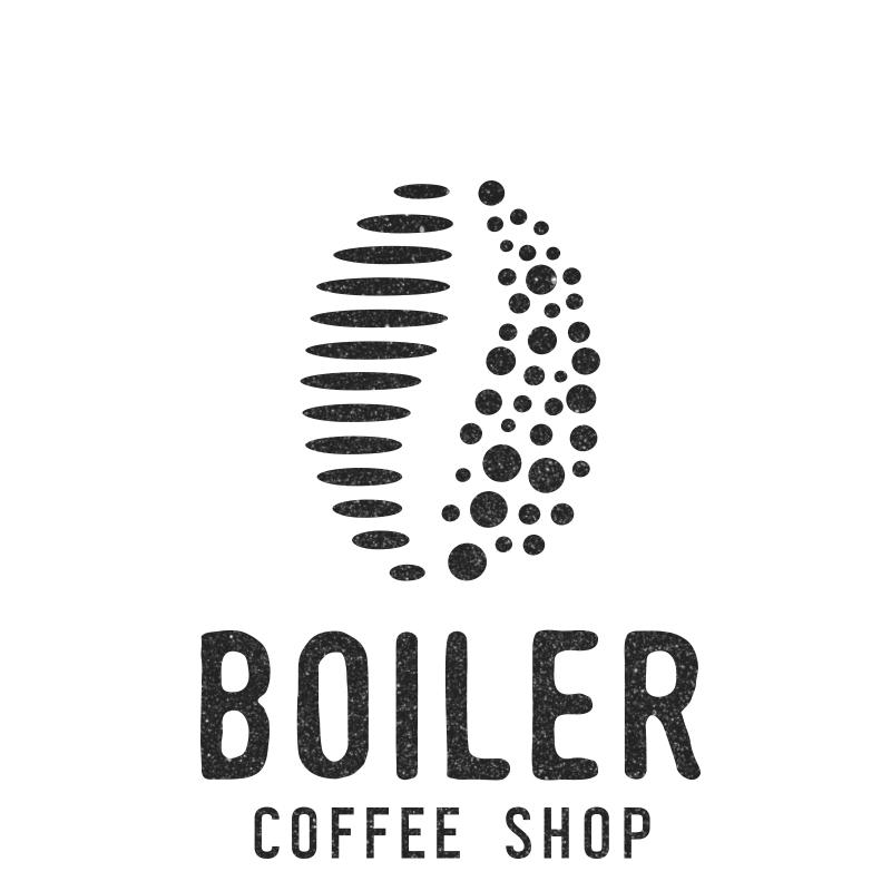Logo Boiler Coffee Shop