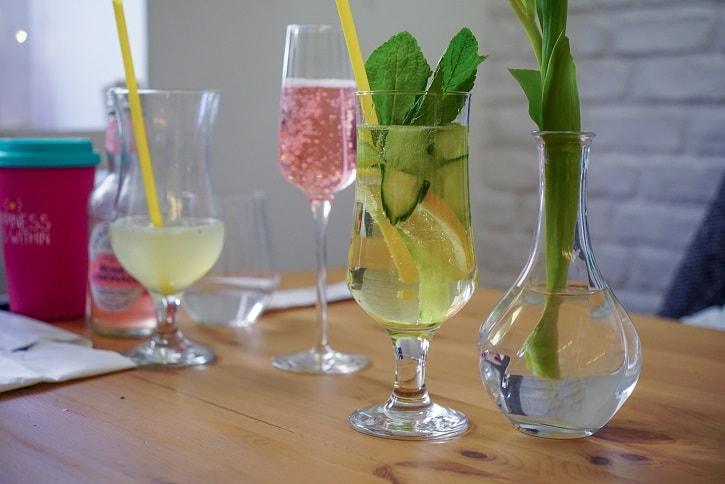 Maison de Crepes Limonada Cocktail