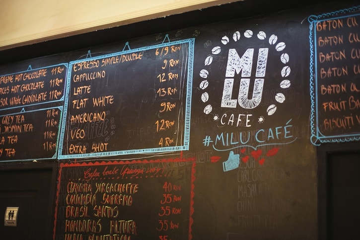 Milu Cafe Meniu
