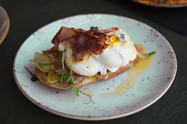 Nuba Cafe Eggs Benedict