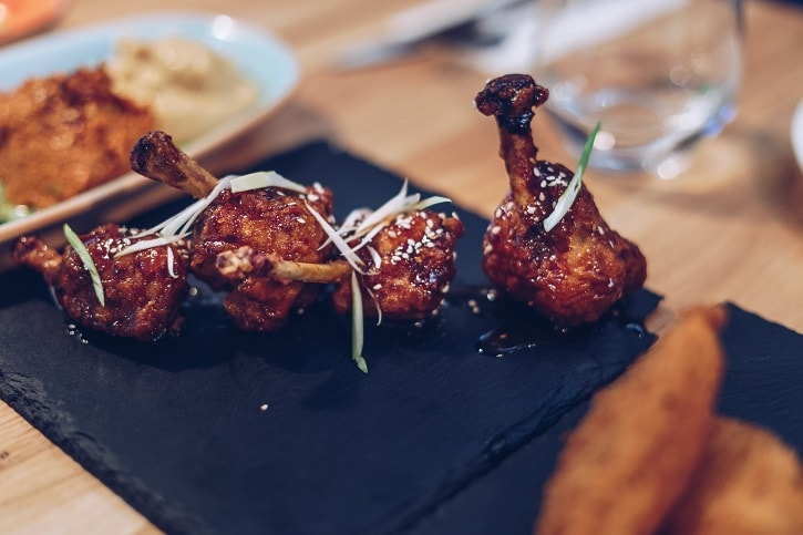 Pio Bistro Chicken Teriyaki Lollipops