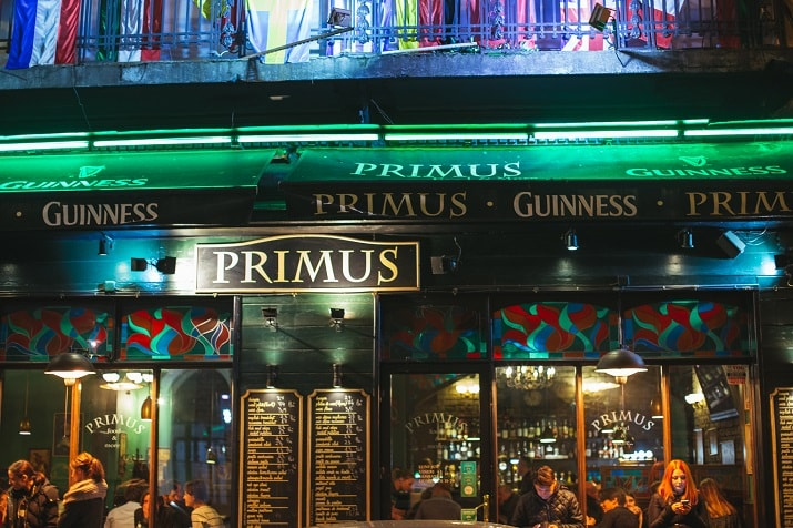 Primus Irish Pub Bucharest