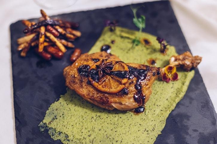 Restaurant Trei Pulpa Rata Piure Mazare