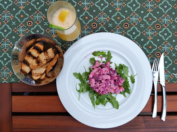 Salata Caracatita Chefs Experience