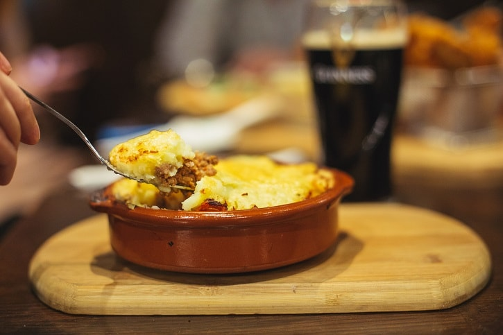 St. Patrick Irish Pub Cottage Pie