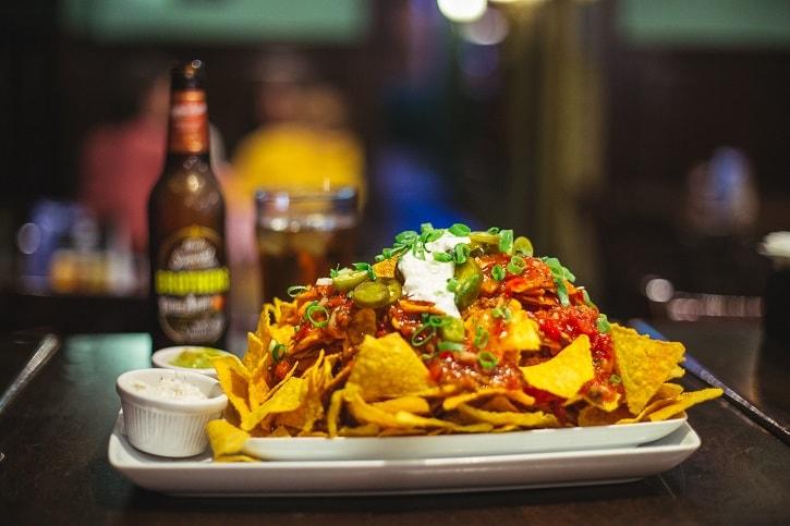 St. Patrick Irish Pub Nachos Mexican