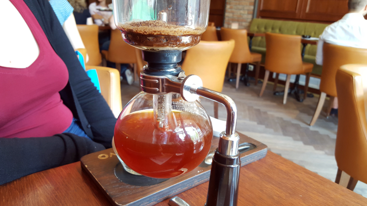 Syphon coffee 1