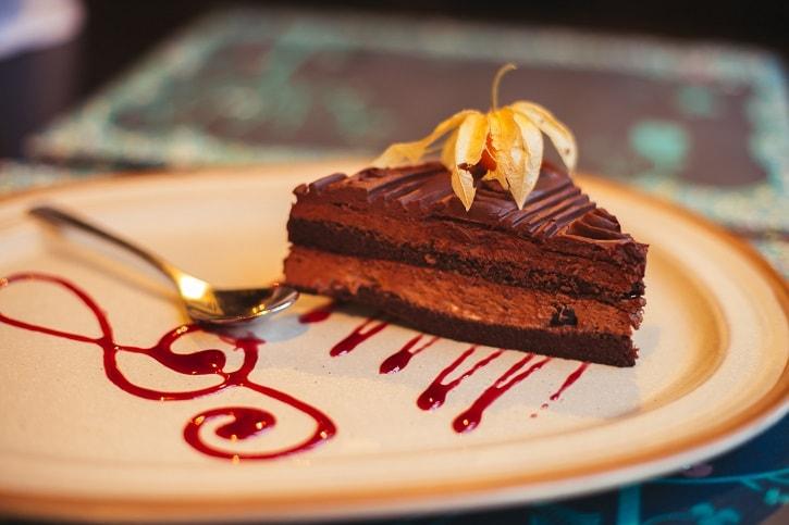 The Harp Pub Tort Ciocolata Visine