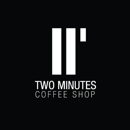 Two minutes coffee logo