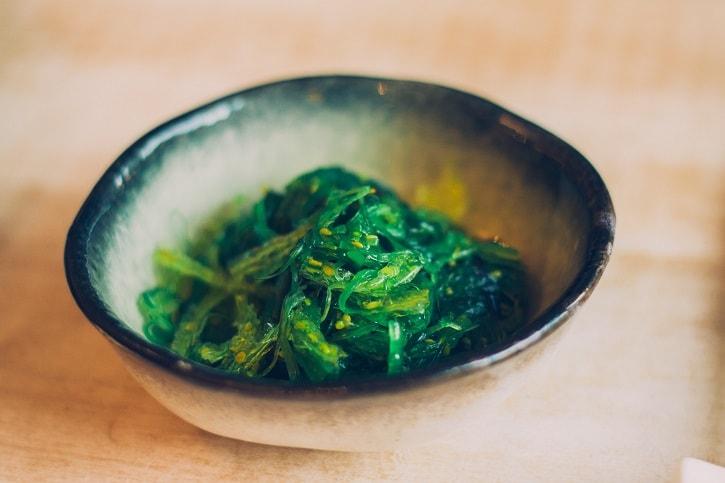 zen-sushi-fusion-sea-weed-salad