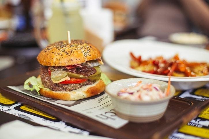 d20 Urban Bistro Burger