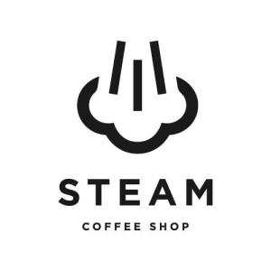 Logo Steam Coffee Shop