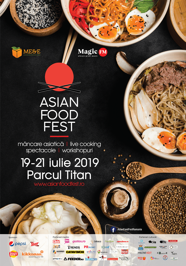 Asian Food Fest 2019 afis