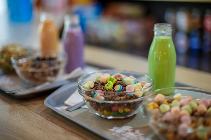 Cereal Crunch Cafe Lapte Verde Lucky Charms