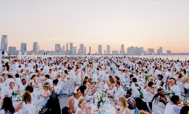 Diner en Blanc Bucharest Romania