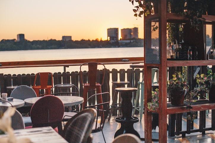 Funky Lounge Herăstrău Peisaj Lac