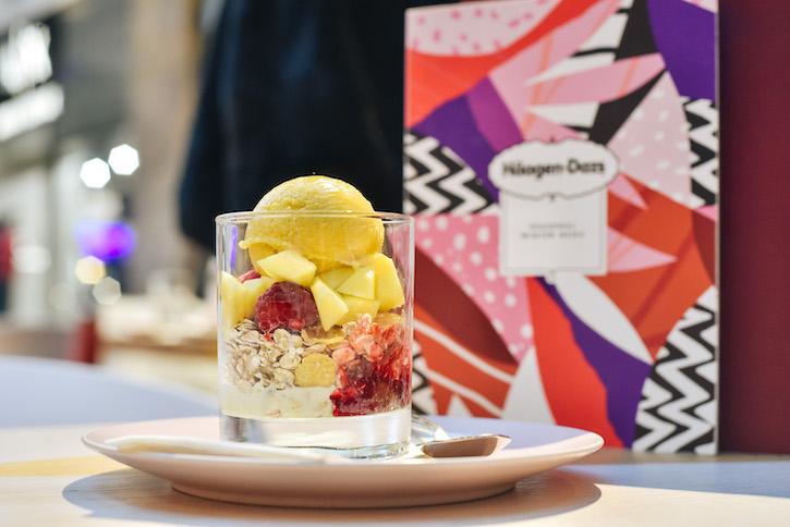 Haagen Dazs Ice Cream Dessert