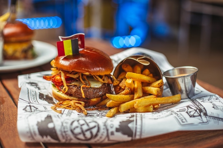 Hard Rock Cafe Bucharest Whiskey Bacon Burger