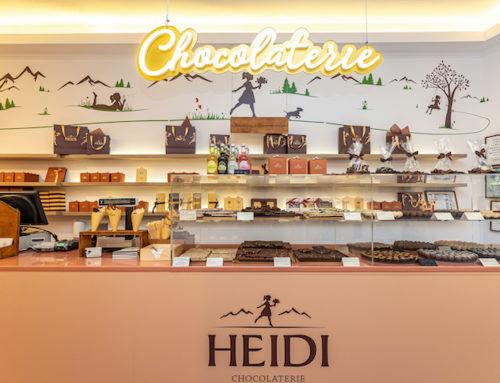 HEIDI a Deschis Primul Pop-up Shop cu Ciocolată Premium