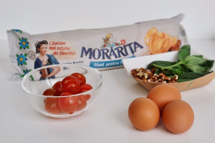 Ingrediente-reteta-Oua-Ochiuri-Foietaj-Rosii-Cherry-Pesto