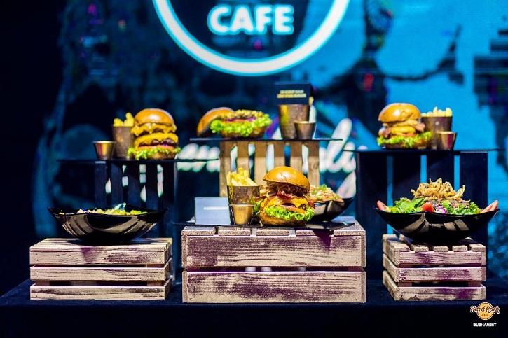 New menu Hard Rock Cafe