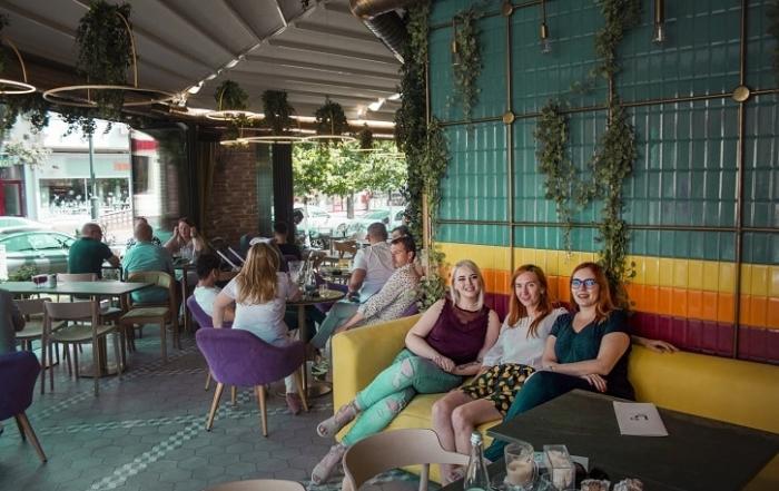 Nuba Cafe Yum Stops Team