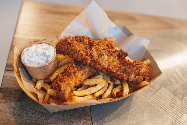 Raionul Floreasca Fish & Chips Camden