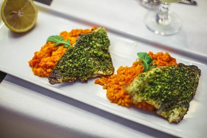 Restaurant Herastrau File Dorada Ierburi Risotto