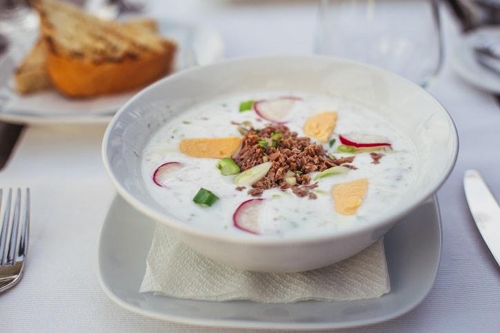 Restaurant Herastrau Supa Ocroca Chefir