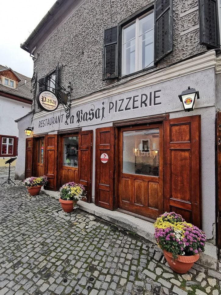 Restaurant Pasaj Sibiu Intrare