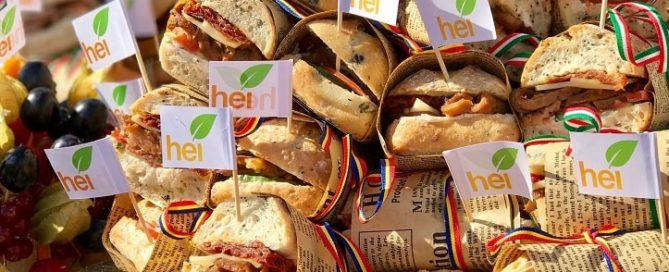 Rompetrol hei sandviș curcan 2018