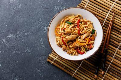 Shan´Shi pad thai noodles cu pui sweet china