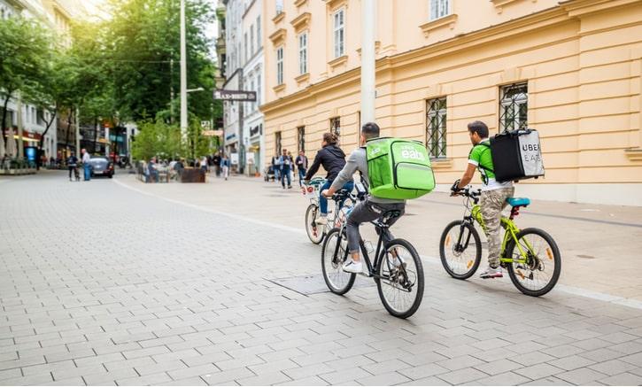 Uber Eats Biciclisti