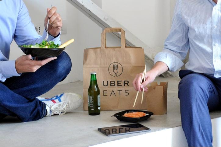 Uber Eats Lunch