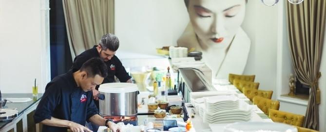 Zen Sushi Nordului Live Cooking