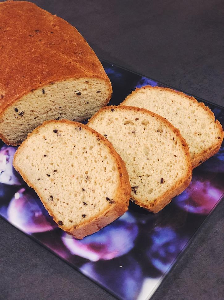 pâine keto homemade yum