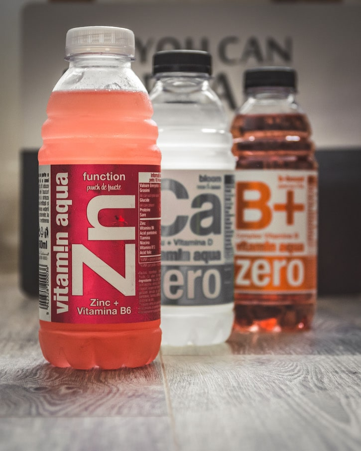 vitamin aqua Zn fruit punch